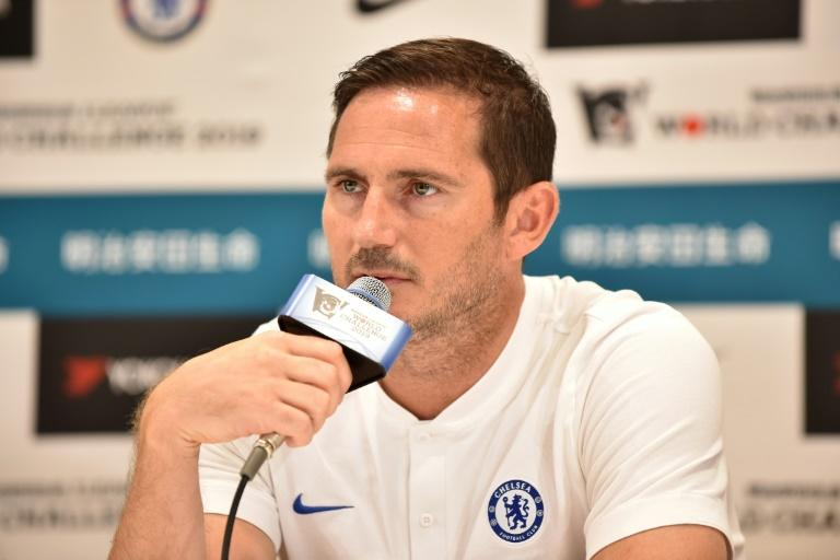 New Chelsea boss Frank Lampard told a press conference in Japan that he won't be looking backwards as he takes on the biggest challenge of his career