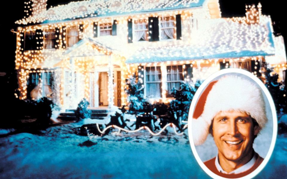 The house in National Lampoon's Christmas Vacation is the gold standard when it comes to outdoor decorations - Alamy