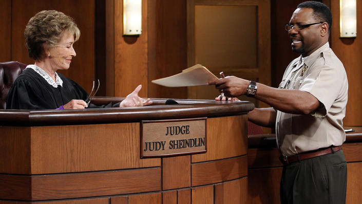 """Petri Hawkins-Byrd opened up about not being asked to be a part of 'Judy Justice.' <span class=""""copyright"""">Kirk McKoy/Los Angeles Times via Getty Images</span>"""