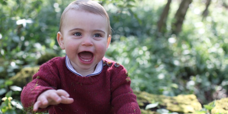 New photographs of Prince Louis released to celebrate his first birthday