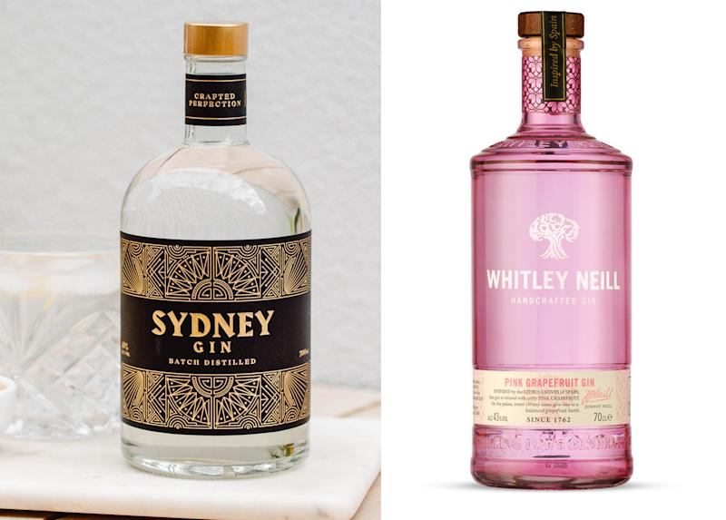 Sydney Gin and Whitley Neill