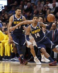 While he may not have the highest ceiling, Gary Harris has been a key piece throughout the Nuggets' playoff run.