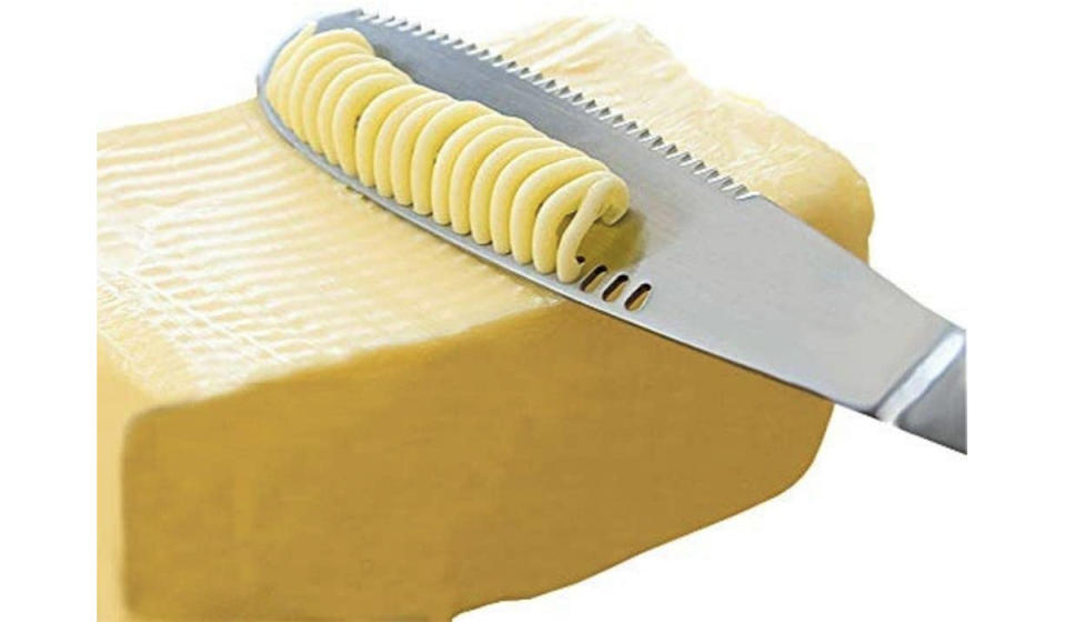 Even the hardest butter becomes easily spreadable. (Photo: Amazon)
