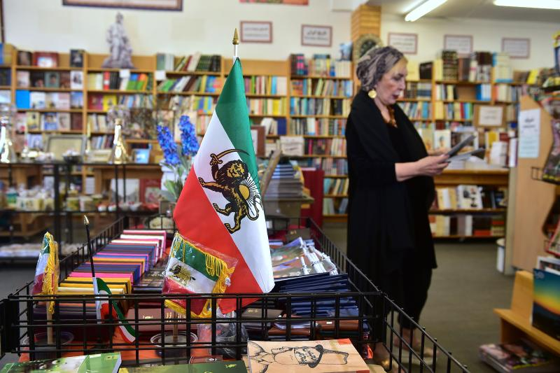 A woman browses through a selection of periodicals at a bookstore along Westwood Boulevard on March 15, 2017, in a neighborhood known unofficially as Tehrangeles in Los Angeles, California, due to its Iranian and Iranian-American population. (Photo: Frederic J. Brown/AFP/Getty Images)