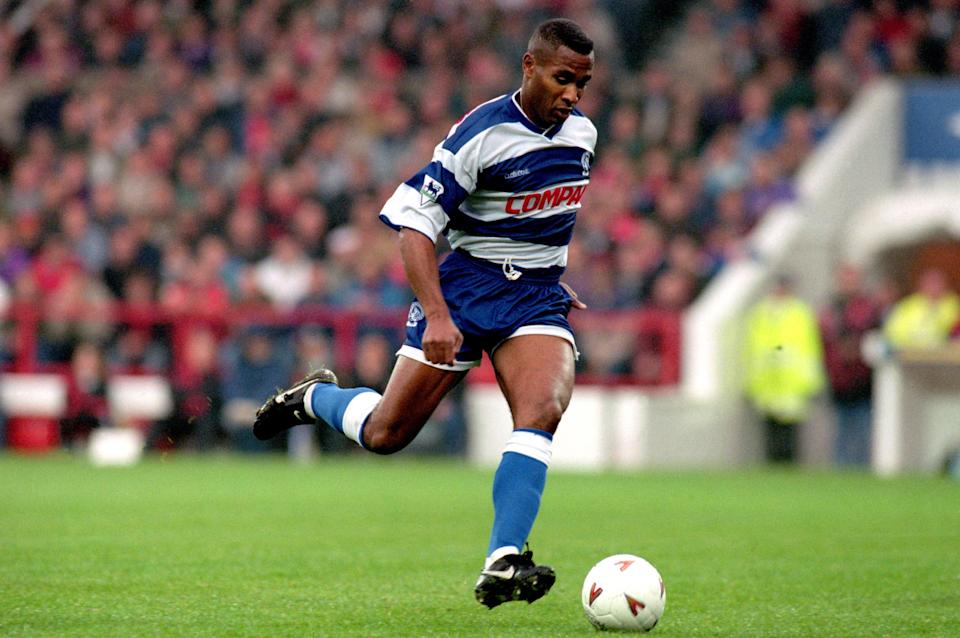 Les Ferdinand during his playing days at Queens Park Rangers  (Photo by Tony Marshall/EMPICS via Getty Images)