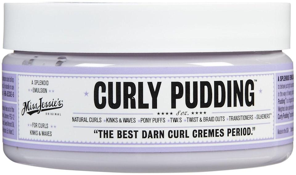 """<h2>Miss Jessie's <br></h2><br>Shop Curly Pudding for $10<br><br><strong><em>Shop <a href=""""https://amzn.to/3pVo2hh"""" rel=""""nofollow noopener"""" target=""""_blank"""" data-ylk=""""slk:Miss Jessie's"""" class=""""link rapid-noclick-resp"""">Miss Jessie's</a></em></strong><br><br><strong>Miss Jessie's</strong> Curly Pudding, $, available at <a href=""""https://amzn.to/3pRPTPt"""" rel=""""nofollow noopener"""" target=""""_blank"""" data-ylk=""""slk:Amazon"""" class=""""link rapid-noclick-resp"""">Amazon</a>"""