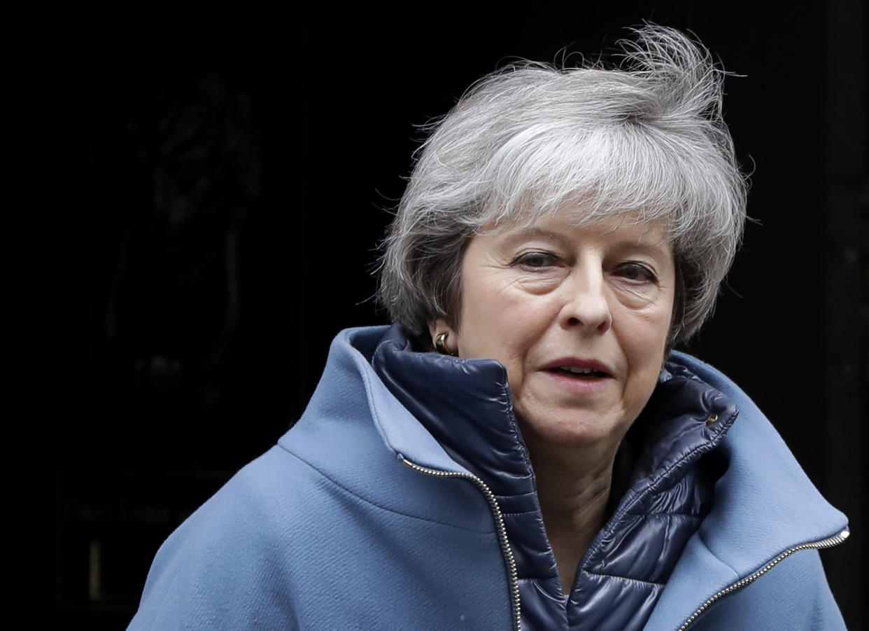 <em>Theresa May has revealed that she scraped mould off jam rather than throw away a jar (Picture: AP/Kirsty Wigglesworth)</em>