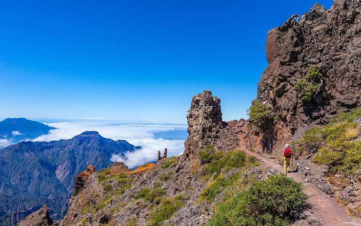 Truly wondrous landscapes can be discovered by hiking the Canary Islands - Flavio Vallenari