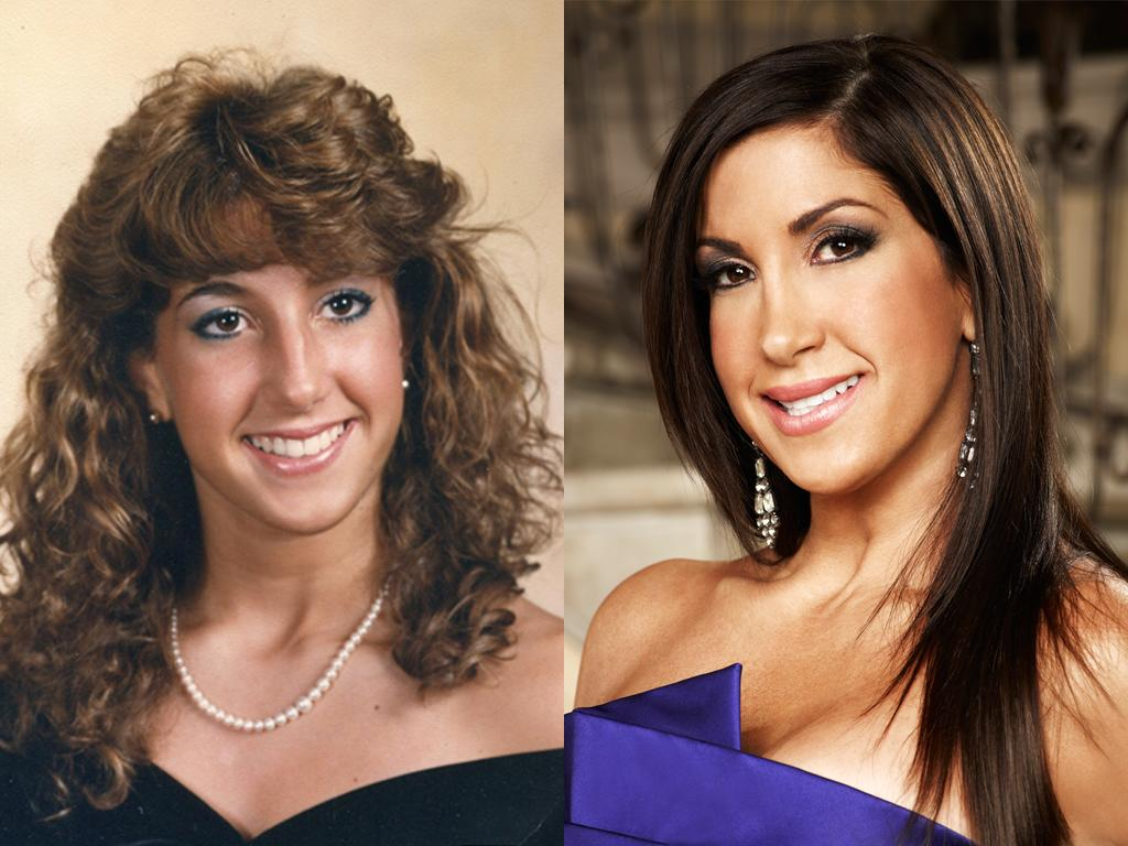 """<b>Jacqueline Laurita (New Jersey)</b><br><br>Blame it on the '80s! Before she became a drama queen on """"Real Housewives of New Jersey,"""" Jacqueline Laurita was very familiar with hair spray and blue eyeliner. Lucky for her, the mom of three (she's married to Caroline Manzo's brother, Chris) stopped perming her hair.<br><br><a target=""""_blank"""" href=""""http://www.bravotv.com/the-real-housewives-of-new-jersey/photos/before-they-were-housewives-jacqueline"""">More Photos of Jacqueline</a>"""
