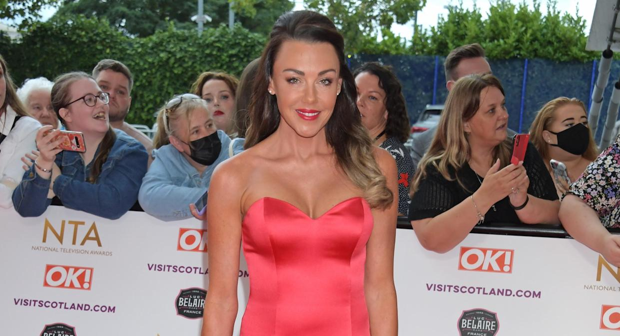 Michelle Heaton, pictured at the NTAs in September 2021, has been sober for 140 days. (Getty Images)