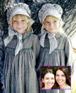 "<p><b>Then:</b> Baby Grace was the youngest of Caroline and Charles's biological children, and she was played by the Turnbaugh twins, whose grandmother was a friend of <i>LHOP</i> producer Kent McCray.</p><p><b>Now:</b> The Turnbaugh twins didn't pursue acting careers after <i>Little House</i>, but do remain active with the Little House fan community. They have a joint <a href=""http://www.pioneerontheprairie.com/babygrace/whatsup.htm"" rel=""nofollow noopener"" target=""_blank"" data-ylk=""slk:website"" class=""link rapid-noclick-resp"">website</a> where they sell photos of themselves from the show, and update fans on their lives now, as wives and mothers of two children each. Wendi named her youngest daughter Reagan Grace, in honor of their Ingalls family member.</p><p><i>(Credit: Getty Images/PioneeronthePrairie.com)</i></p>"