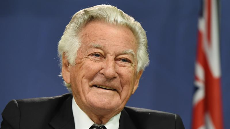 Bob Hawke (pic) and Kevin Rudd will miss the state funeral for former prime minister Malcolm Fraser.