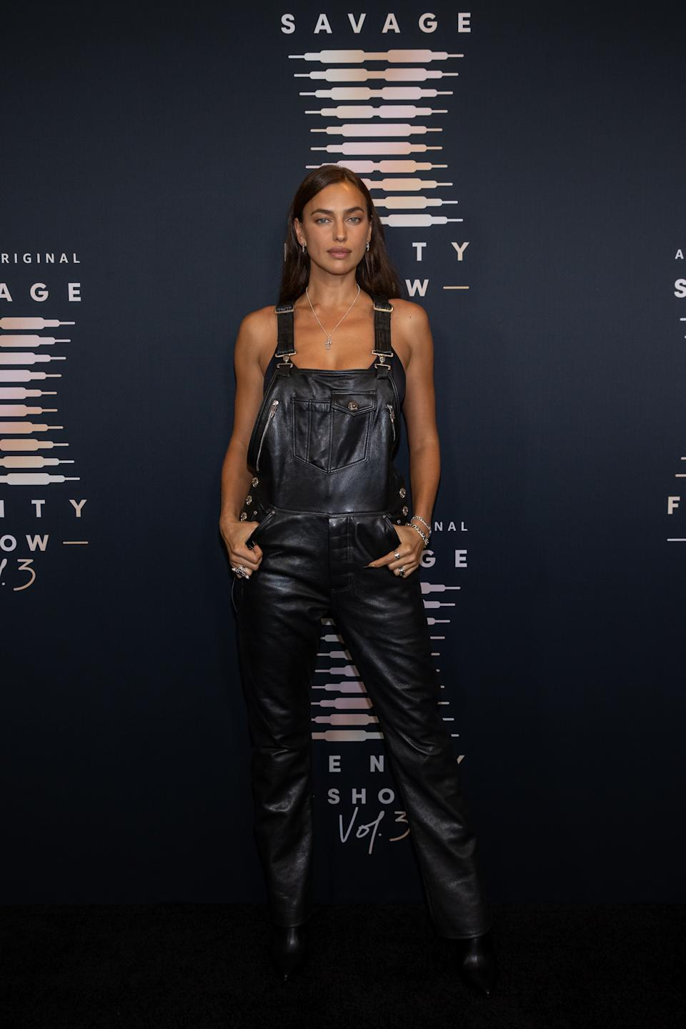 LOS ANGELES, CALIFORNIA - SEPTEMBER 22: In this image released on September 22, Irina Shayk attends Rihanna's Savage X Fenty Show Vol. 3 presented by Amazon Prime Video at The Westin Bonaventure Hotel & Suites in Los Angeles, California; and broadcast on September 24, 2021. (Photo by Emma McIntyre/Getty Images for Rihanna's Savage X Fenty Show Vol. 3 Presented by Amazon Prime Video)