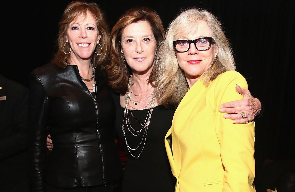 Jane Rosenthal, Blythe Danner and Paula Weinstein attend the TFF Awards Night during the 2013 Tribeca Film Festival on April 25, 2013 in New York City.