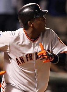 Edgar Renteria's home run helped the Giants bring a first title to San Francisco