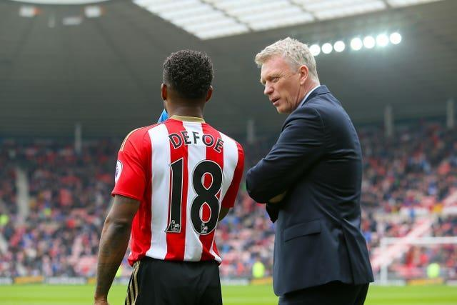 Sunderland hoped Moyes (right) could lead a revival after narrowly avoided relegation the previous season