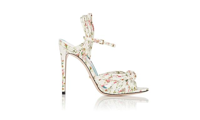 "<p>Allie leather sandals, $950, <a href=""http://www.barneys.com/product/gucci-allie-leather-sandals-505165431.html"" rel=""nofollow noopener"" target=""_blank"" data-ylk=""slk:Gucci.com"" class=""link rapid-noclick-resp"">Gucci.com</a> </p>"