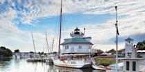 "<p><strong>Best for Nautical Charm</strong></p><p>This upscale coastal town on Maryland's eastern shore (2 hours from <a href=""https://www.bestproducts.com/fun-things-to-do/news/g2698/best-things-to-do-in-washington-dc/"" rel=""nofollow noopener"" target=""_blank"" data-ylk=""slk:D.C."" class=""link rapid-noclick-resp"">D.C.</a>) is all about seaside pleasures. Take a sunset sail along the Miles River on an antique sailboat, dine on Maryland blue crabs at a waterfront restaurant, and snap a photo beside the Hooper Straight Lighthouse at the 18-acre <a href=""https://www.tripadvisor.com/Attraction_Review-g41364-d103770-Reviews-Chesapeake_Bay_Maritime_Museum-St_Michaels_Talbot_County_Maryland.html"" rel=""nofollow noopener"" target=""_blank"" data-ylk=""slk:Chesapeake Bay Maritime Museum"" class=""link rapid-noclick-resp"">Chesapeake Bay Maritime Museum</a>. </p><p><strong><em>Where to Stay:</em></strong> <a href=""https://www.tripadvisor.com/Hotel_Review-g41364-d89534-Reviews-Inn_at_Perry_Cabin-St_Michaels_Talbot_County_Maryland.html"" rel=""nofollow noopener"" target=""_blank"" data-ylk=""slk:Inn at Perry Cabin by Belmond"" class=""link rapid-noclick-resp"">Inn at Perry Cabin by Belmond</a></p>"