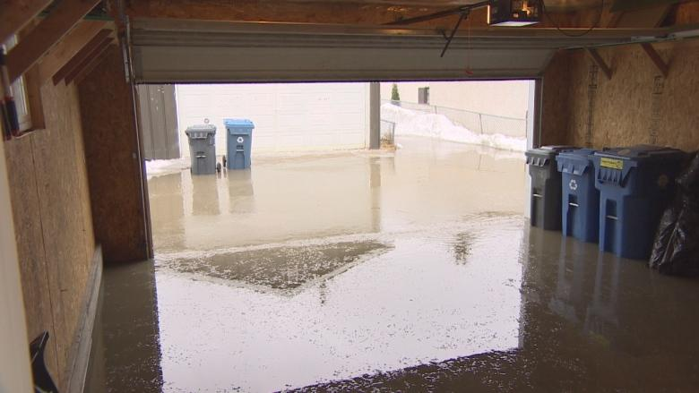 Homeowner says 9 days for city to respond to flooded back lane unacceptable
