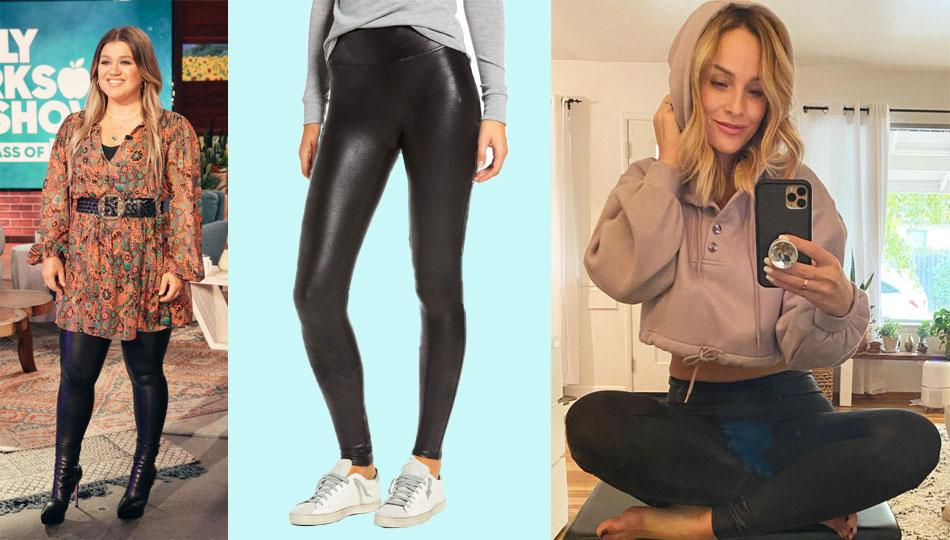 Spanx Faux Leather Leggings, beloved by celebs, are on sale at Nordstrom — grab them while they're in stock. (Photo: Nordstrom)