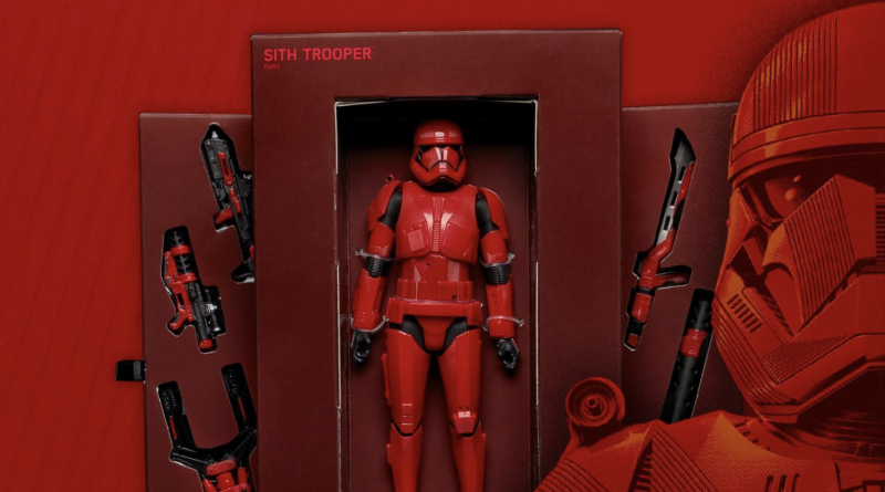 Star Wars: The Rise of Skywalker New Sith Trooper Revealed