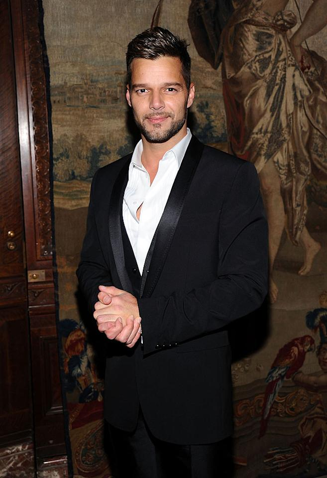 "For years, hunky ""Livin' la Vida Loca"" singer Ricky Martin dodged questions about his sexual orientation. That changed on March 29, when he posted on his website, ""I am proud to say that I am a fortunate homosexual man."" Jamie McCarthy/<a href=""http://www.wireimage.com"" target=""new"">WireImage.com</a> - June 3, 2010"