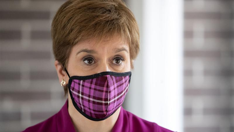 Nicola Sturgeon backs disciplinary action as a 'last resort' against students
