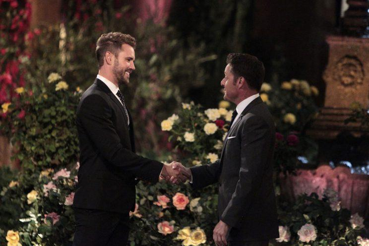 Nick Viall, Chris Harrison (Credit: Rick Rowell/ABC)