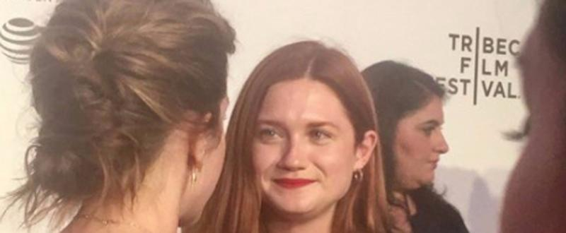 Emma Watson Reunites With Harry Potter BFF Ginny Weasley in NYC