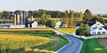 """<p><strong>Best for Visiting Amish Country </strong></p><p>Lancaster, 2 hours west of Philadelphia, not only has a burgeoning arts scene, but it's the gateway to Amish country. Drive along route 340, passing rolling hills, to communities like Bird-in-Hand, where you'll see Amish farms, quilt shops, roadside fruit stands manned by bonneted teens, and yes, plenty of horse-and-buggies. </p><p><strong><em>Where to Stay:</em></strong> <a href=""""https://go.redirectingat.com?id=74968X1596630&url=https%3A%2F%2Fwww.tripadvisor.com%2FHotel_Review-g52970-d1718993-Reviews-Cork_Factory_Hotel-Lancaster_Lancaster_County_Pennsylvania.html&sref=https%3A%2F%2Fwww.countryliving.com%2Flife%2Fg37186621%2Fbest-places-to-experience-and-visit-in-the-usa%2F"""" rel=""""nofollow noopener"""" target=""""_blank"""" data-ylk=""""slk:Cork Factory Hotel"""" class=""""link rapid-noclick-resp"""">Cork Factory Hotel</a>, <a href=""""https://go.redirectingat.com?id=74968X1596630&url=https%3A%2F%2Fwww.tripadvisor.com%2FHotel_Review-g52970-d610589-Reviews-Lancaster_Arts_Hotel-Lancaster_Lancaster_County_Pennsylvania.html&sref=https%3A%2F%2Fwww.countryliving.com%2Flife%2Fg37186621%2Fbest-places-to-experience-and-visit-in-the-usa%2F"""" rel=""""nofollow noopener"""" target=""""_blank"""" data-ylk=""""slk:Lancaster Arts Hotel"""" class=""""link rapid-noclick-resp"""">Lancaster Arts Hotel</a></p>"""