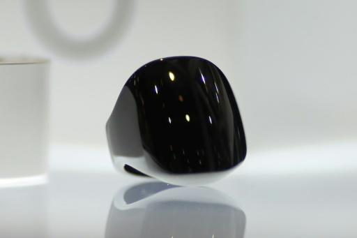 Wearable devices like the Oura fitness tracker, seen here at the 2016 Consumer Electronics Show, are being used to monitor subtle bodily changes which could indicate a virus infection before symptoms appear