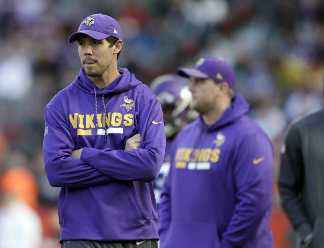 Not this year: the Vikings placed Sam Bradford on injured reserve after a Tuesday knee scope. (AP)