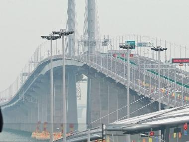 China launches 55-kilometre mega bridge connecting Hong Kong to mainland; set to be world's longest oversea structure