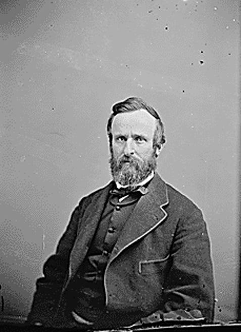 Rutherford B. Hayes, 19th president of the United States, won the election in 1876 only after the creation of a special commission to decide disputed electoral votes. Because of the tension surrounding his election, Hayes secretly took the oath of office March 4, 1877, in the Red Room of the White House.