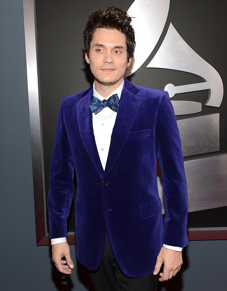 LOS ANGELES, CA - FEBRUARY 10:  Musician John Mayer attends the 55th Annual GRAMMY Awards at STAPLES Center on February 10, 2013 in Los Angeles, California.  (Photo by Larry Busacca/WireImage)