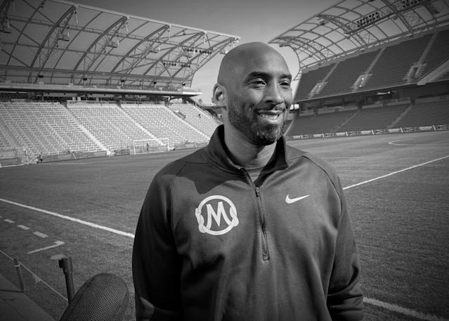 Kobe Bryant was ever present in soccer in the United States. (REUTERS/Rory Carroll)