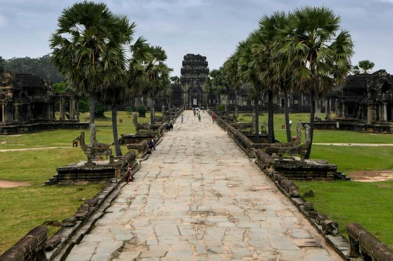 Cambodia's renowned world heritage site contains monuments dating from the 9th to 15th century