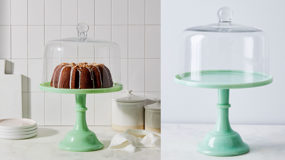 Gifts for bakers: Mosser Glass Cake Stand