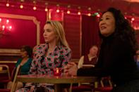 "<p>Although it's not French per se, there is a certain francophone flair to <strong>Killing Eve </strong>that we can't help but associate to <strong>Lupin</strong>, whether it's due to the main character's name, Villanelle, or her (incredible!) Parisian apartment. The subject matter is similar, too: Eve, a bored spy at MI5, must chase down psychopathic assassin Villanelle into the depths of the Earth, learning more about herself than she ever could've guessed. The game of cat and mouse is amplified (which seems to be brewing on <strong>Lupin</strong> between Diop and admiring detective Youssef), and both women learn they hate each other but can't live without each other, either. </p> <p> <a href=""https://www.hulu.com/series/c9d3b601-54db-42d1-a1ed-8950cea491b1"" class=""link rapid-noclick-resp"" rel=""nofollow noopener"" target=""_blank"" data-ylk=""slk:Watch Killing Eve on Hulu."">Watch <strong>Killing Eve</strong> on Hulu.<br></a></p>"