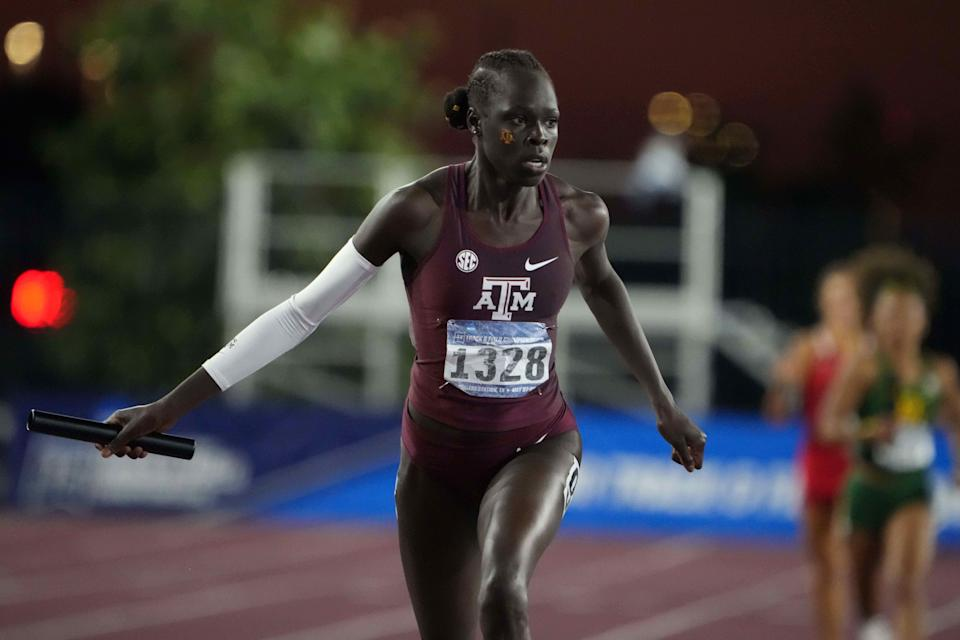 Texas A&M freshman Athing Mu has been one of the biggest stars in track and field this season.