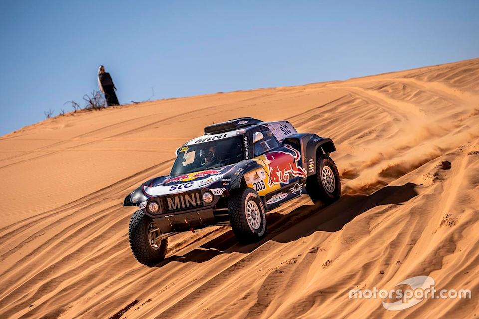 "Carlos Sainz, Lucas Cruz, MINI X-Raid<span class=""copyright"">Press Image</span>"
