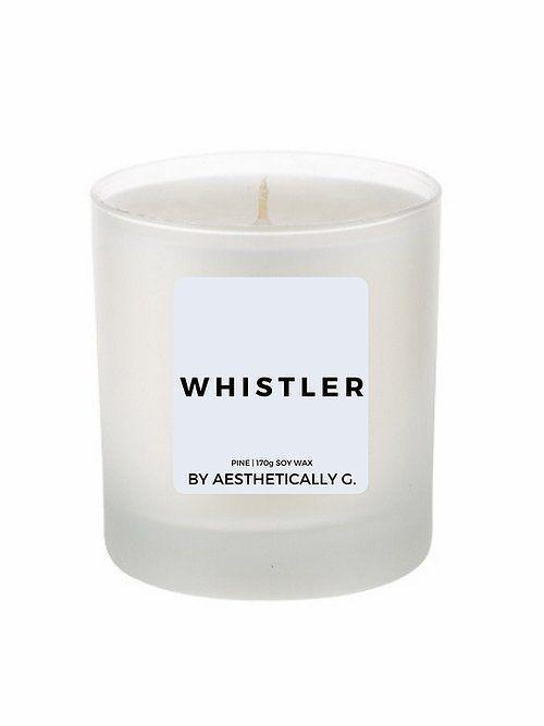 """<p><a class=""""link rapid-noclick-resp"""" href=""""https://www.aestheticallyg.com/product-page/whistler-170g-scented-candle"""" rel=""""nofollow noopener"""" target=""""_blank"""" data-ylk=""""slk:SHOP NOW"""">SHOP NOW</a></p><p>Born in the heart of lockdown, this home-made sustainable candle brand features sophisticated Parisian-inspired scents that would rival those with triple the price tag. All candles are 100% cruelty-free and vegan. </p>"""