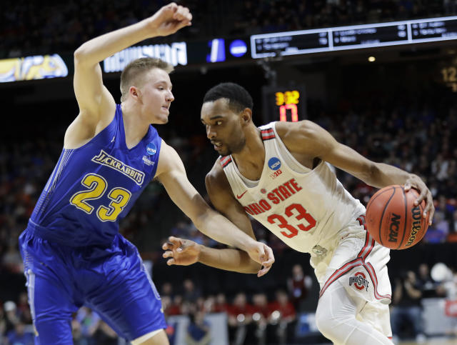 Ohio State forward Keita Bates-Diop has a well-rounded, pro-style game. (AP)