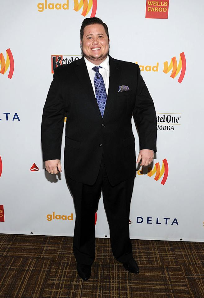 "<p class=""MsoNormal"">Chaz Bono, who dressed up for the event, was the recipient of this year's Stephen F. Kolzak Award, which is presented to ""an openly lesbian, gay, bisexual, or transgender media professional who has made a significant difference in promoting equality,"" according to GLAAD. The organization cited the transgender son of Cher and Sonny Bono, 43, for the many ways he has brought attention to the transgender community, such as appearing in a documentary called ""Becoming Chaz"" and competing on ""Dancing With the Stars."" </p>"