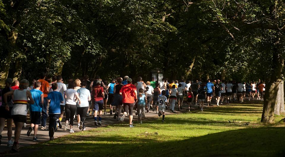 People will be returning to Parkrun after lockdown restrictions eased in England on Monday (Gareth Copley/PA) (PA Archive)