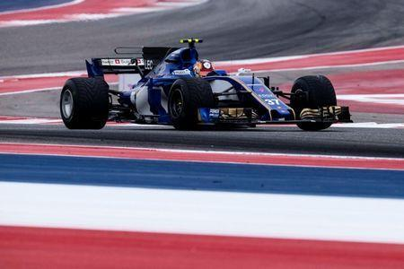 FILE PHOTO: Oct 20, 2017; Austin, TX, USA; Sauber driver Charles Leclerc (37) of Monaco during practice for the United States Grand Prix at Circuit of the Americas. Mandatory Credit: Jerome Miron-USA TODAY Sports/File Photo