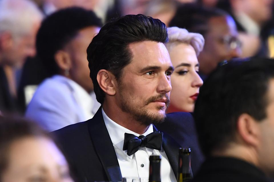 James Franco was accused of pushing female students to engage in explicit sex scenes on camera. (Photo by Dimitrios Kambouris/Getty Images for Turner)