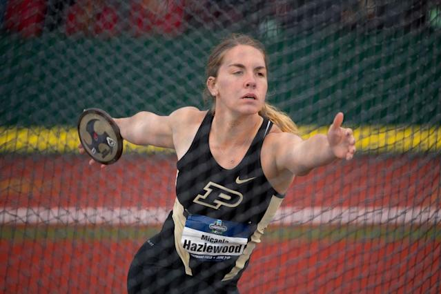 <p><strong>44. Purdue</strong><br>Top 2017-18 sport: women's track. Trajectory: Up. After finishing 60th in 2015, the Boilermakers have improved to 45th, then 41st, then 39th this year. An eighth-place finish in women's outdoor track, highest in school history, pushed Purdue into the top 40. </p>
