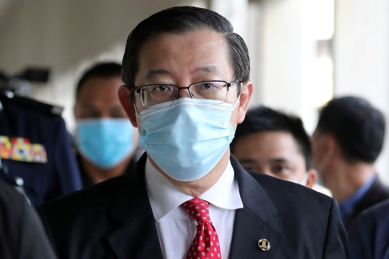 Malaysia charges former finance minister with corruption