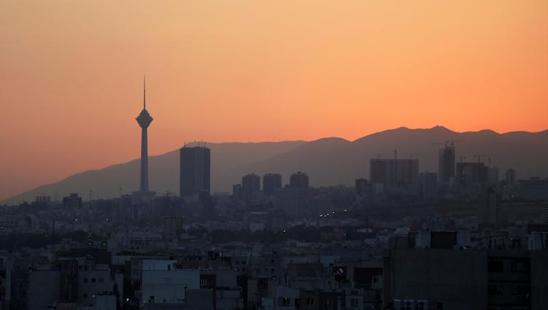 Milad telecommunications tower, left, and buildings are seen at sunset in Tehran, Iran, Monday, Aug. 19, 2019. (AP Photo/Vahid Salemi) (Photo: ASSOCIATED PRESS)
